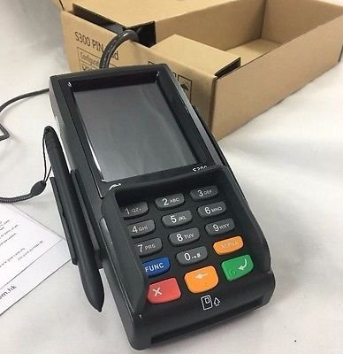 PAX S300 v3, RS232/Ethernet, PIN Pad/Card Reader/SCR/Contactless - Dual Com, EMV, NFC