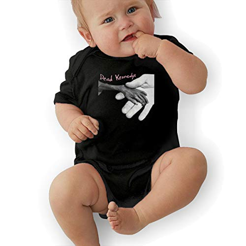 LuckyTagy Dead Kennedys Plastic Surgery Disasters Unisex Classic Toddler Romper Baby BoyJumpsuit 45 Black]()