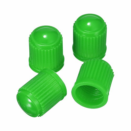 Outus 20 Pack Tyre Valve Dust Caps for Car, Motorbike, Trucks, Bike, Bicycle (Green) by Outus (Image #4)