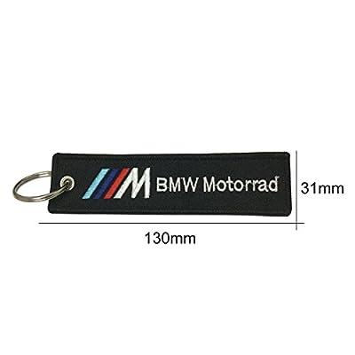1pcs Tag Keychain For BMW Motorrad Car Keychain Accessories Sporty Gifts: Automotive