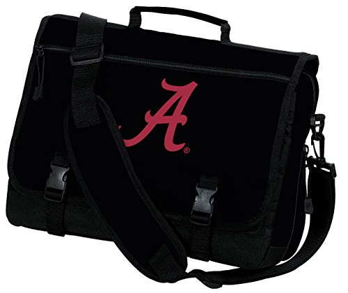 Broad Bay University of Alabama Laptop Bag Alabama Computer Bag or Messenger Bag by Broad Bay