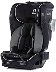 Diono 2020 Radian 3QXT, 4-in-1 Convertible, Safe+ Engineering, 4 Stage Infant Protection, 10 Years 1 Car Seat, Fits 3 Across, Black Jet