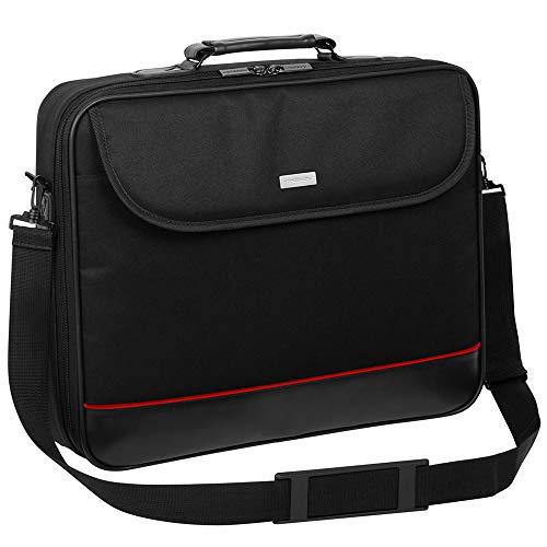 Laptop Tasche passend für Lenovo IdeaPad S340 | Notebook Hülle Umhängetasche Aktentasche mit verstärkten Schutzrahmen…