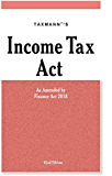 Income Tax Act-As Amended by Finance Act 2018(62nd Edition 2018)