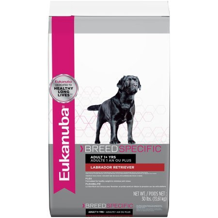 Eukanuba Breed Specific Labrador Retriever Nutrition Dry Dog Food, 30 Lb