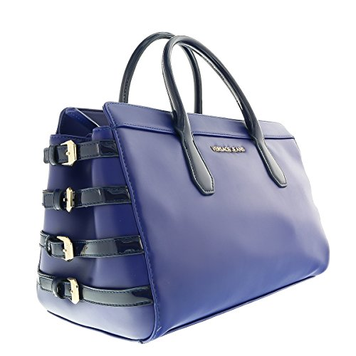 Versace EE1VOBBE5 E240 Blue Top Handle - Men Bag Versace