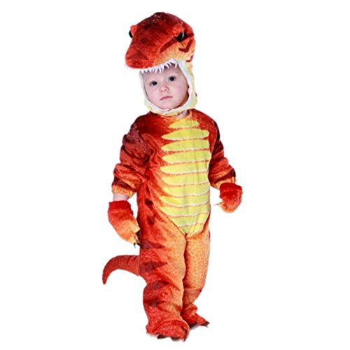 NoveltyBoy Toddler T-Rex Dinosaur Costume Baby's Triceratops Cosplay Jumpsuit - Inflatable T Rex Costume Toddler