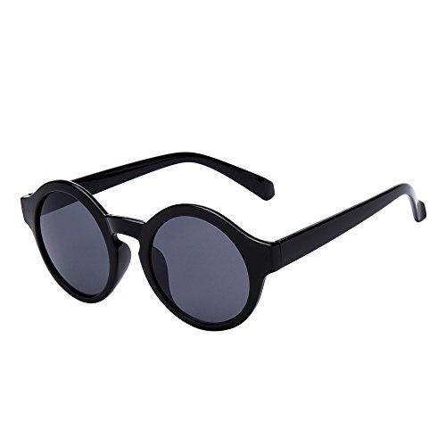 NEW Makalon Women Men Round Glasses Unisex Fashion Mirror - Companies Sunglass