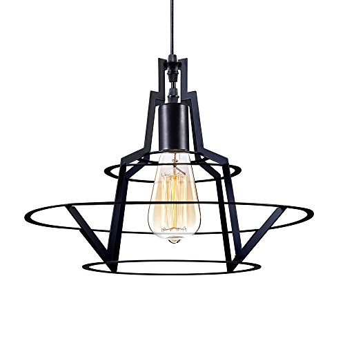 kiven-vintage-wire-industrial-pendant-light-black-metal-cage-shade-e26-hanging-light-mini-adjustable