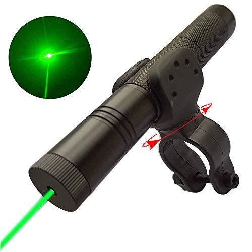La-ser Po-Inter Pen Visible Beam Light Beam Ray La-zer Flashlight (Green Laser Pointer Strong Pen)