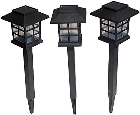 Balizas Solares Farolillos Orientales - Pack de 3 de Solaray™: Amazon.es: Iluminación