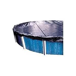 GLI 0024RD-E 24' Round Solid Winter Cover for Above Ground Pool