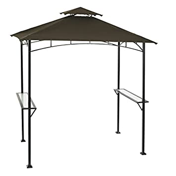 living accents steel frame grill gazebo 961 l x 599