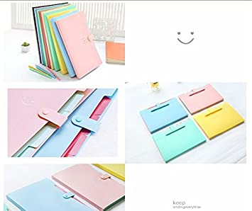 Carpetas de papelería Kawaii Carpetas de 4 capas Archivadores ...