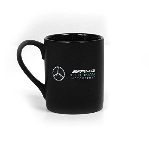 Mercedes Benz Petronas AMG Formula 1 Black Logo Mug (Mercedes Benz Cup)