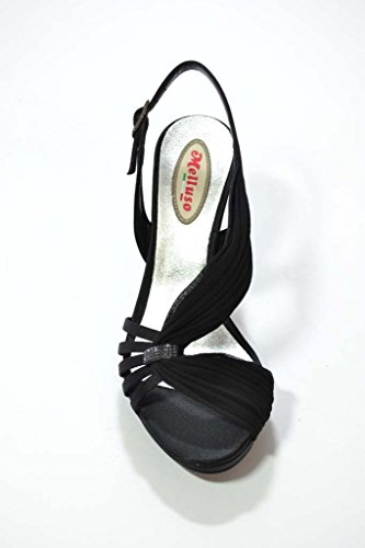 Melluso Sandali scarpe donna nero J144
