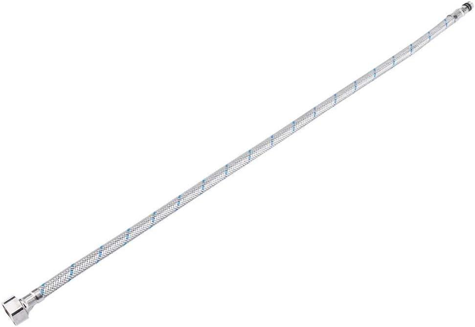 Zoternen Lot de 2 raccords de Robinet Flexibles en Acier Inoxydable pour Eau Chaude et Froide 60 cm UK G1//2