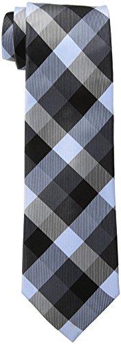 Tommy Hilfiger Men's Buffalo Tartan Tie, Black, One (Buffalo Plaid Tie)
