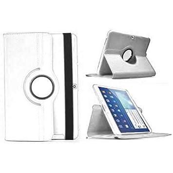 Todobarato24h Funda Tablet Compatible con BQ Aquaris M10 (10.1) giratoria 360º Blanca