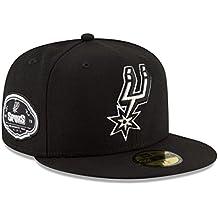 New Era 59Fifty Hat NBA San Antonio Spurs 1973 Team Superb Black Fitted Cap (8)