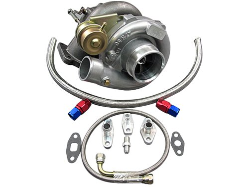 Turbo Supra Toyota (T61 Turbo Charger + Oil Kit Toyota 86-92 Supra MK3 7MGTE Upgrade CT26)