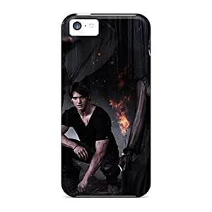 Tpu Case Cover Compatible For Iphone 5c/ Hot Case/ The Vampire Diaries Season 5