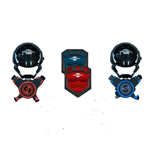 almacén al por mayor Juguetrónica- Juego Juego Juego Laser Warriors, Color Rojo Azul (JUG0329)  mejor reputación
