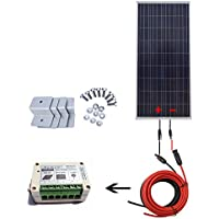 ECO-WORTHY 150 Watt 12 Volt Polycrystalline Solar Starter Kit with 15A Charge Controller
