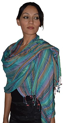 moroccan-shoulder-shawl-breathable-cotton-oblong-head-scarf-silky-soft-exquisite-wrap-blue