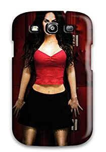 Premium MwWCqLK9521piswd Case With Scratch-resistant/ Vampire Megan Fox Case Cover For Galaxy S3
