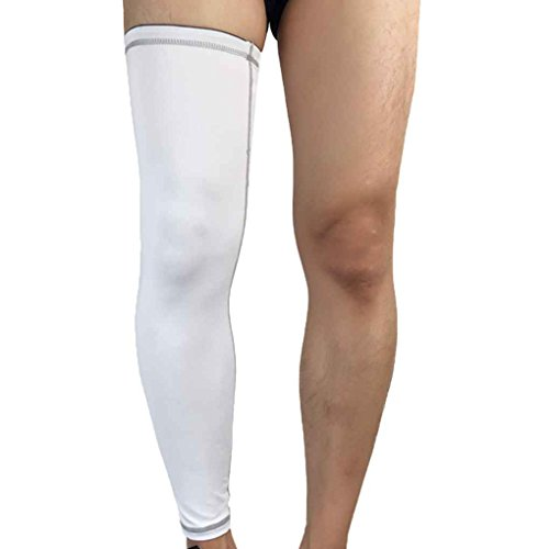 Recovery Compression Leg Sleeves Football Cycling Strech Leg Knee Protector Stocking