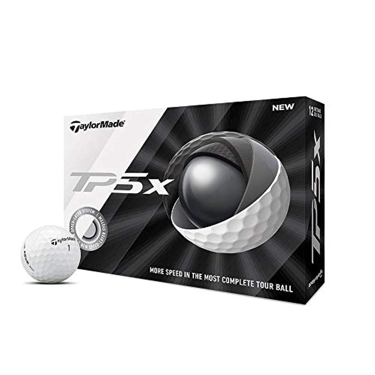 [해외] TAYLORMADE TP5X 골프 볼 화이트 1다스