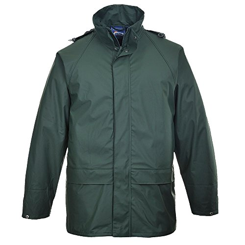 Portwest Sealtex Regenjacke Wasserdicht Marineblau S-XXXXL - XL, Marineblau - XL EU / XL UK