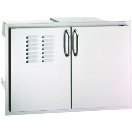 Fire Magic Aurora 30 Inch Double Access Door With Drawers And Propane Tank -