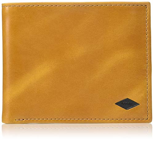 Fossil Men's Ryan RFID Flip ID Bifold Wallet , Tan ,4.5