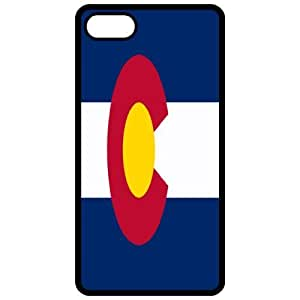 Colorado CO State Flag Black - Apple Iphone 5 Cell Phone Case - Cover