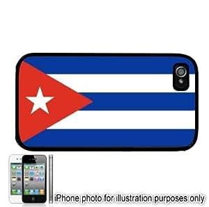 Cuba Cuban Flag Apple iPhone 5c Case Cover Black