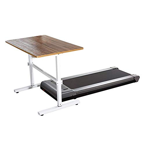 fitbill f.Walk Smart Under Desk Treadmill with Remote Controller and Workout App (Without Handrail)