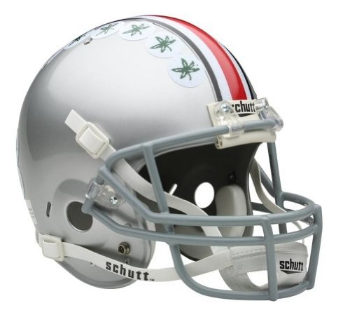 (Victory Collectibles 7100-049 Ohio State Buckeyes Schutt Full Size Replica Helmet)