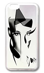 Apple Iphone 6 Case,WENJORS Cool Bjork Soft Case Protective Shell Cell Phone Cover For Apple Iphone 6 (4.7 Inch) - TPU Transparent hjbrhga1544