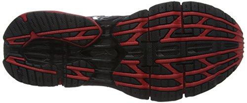 Mizuno Wave Prophecy 5 - Zapatillas de running Hombre Negro - Black (Black/Silver/Chinese Red)