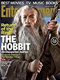 Entertainment Weekly Magazine December 14, 2012 Return of the Ring! The Hobbit