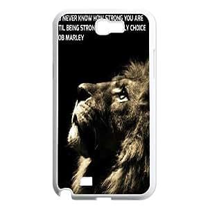 Clzpg High-quality Samsung Galaxy Note2 N7100 Case - Lion diy cover case
