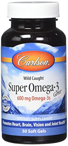 Carlson Omega 3 Concentrate Softgels 50 Count