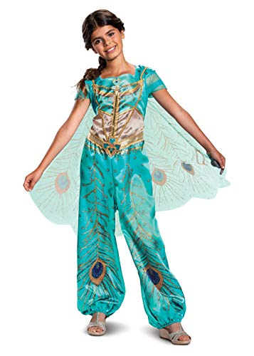 Jasmine Teal Aladdin Live Action Classic Child Girl