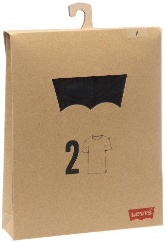 Noir Pack black Levi's Crew Homme shirt 2 Tee Slim T xHwHqR8