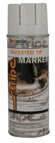 Seymour 16-652 Stripe Water Base Inverted Tip Marker, White ()