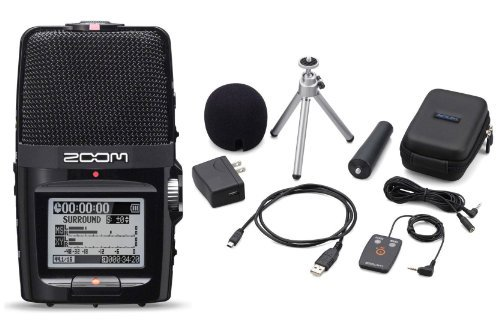 (Zoom H2n Handy Handheld Digital Multitrack Recorder Bundle with APH-2n Accessory Pack)