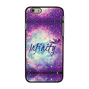 """For iPhone 6 Case, Fashion Infinity Space Pattern Protective Hard Phone Cover Skin Case For iPhone 6 (4.7"""") + Screen Protector"""