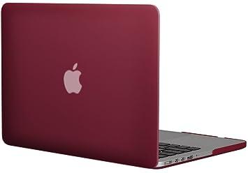 Topideal - Carcasa rígida para Apple MacBook Pro de 13,3 pulgadas con pantalla retina, esmerilado mate (Modelo A1425/A1502)